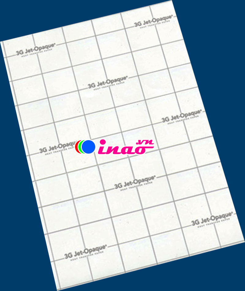 Decal chuyển nhiệt 3G Jet Opaque
